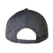 Grey Linear Dot Santa Cruz Strapback Hat Back
