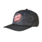 Grey Linear Dot Santa Cruz Strapback Hat