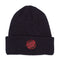 Navy Missing Dot Santa Cruz Ribbed Beanie