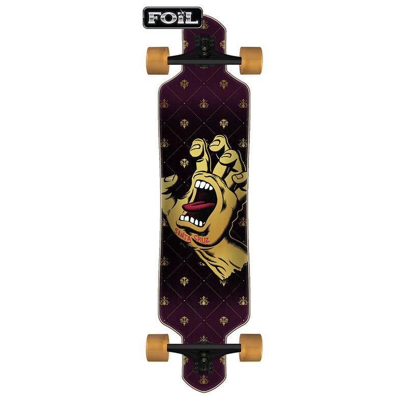 "41"" Royal Hand Drop Thru Santa Cruz Complete Longboard"
