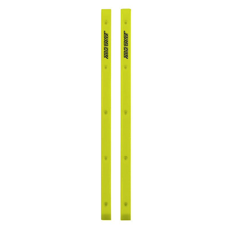 Neon Yellow Santa Cruz Slimeline Skateboard Rails