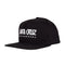 Black Valiant Santa Cruz Skateboards Snapback Hat