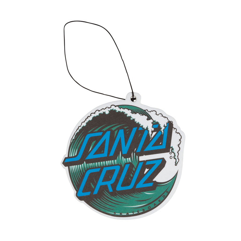 Blue Wave Dot Santa Cruz Air Freshener