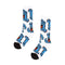 White Work Hand Youth Santa Cruz Skateboard Socks