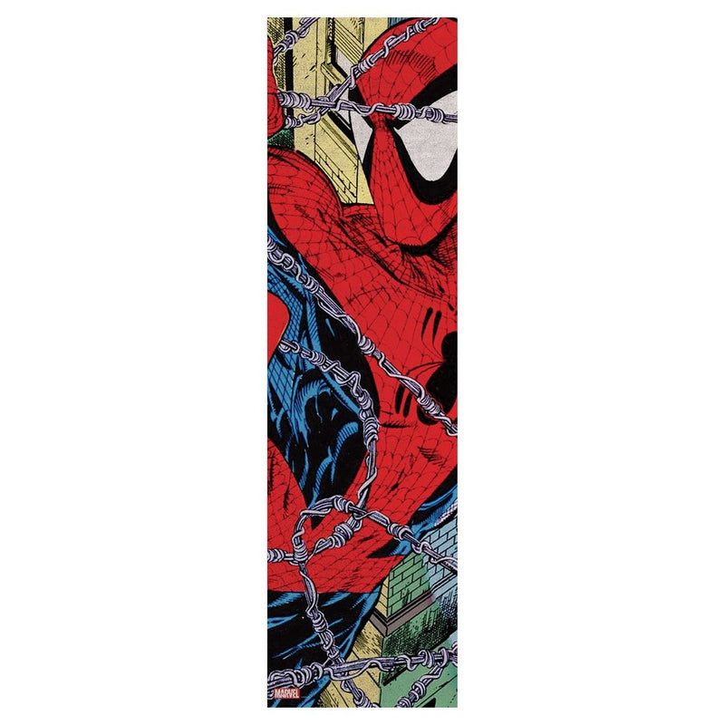 Grizzly Torey Pudwill x Marvel Spider-man Arial Skateboard Griptape