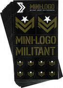 Mini Logo Militant Skateboard Stickers