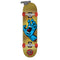 Gold Santa Cruz Metallic Screaming Hand Skateboard Bottom