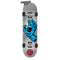 Silver Santa Cruz Screaming Hand Skateboard Bottom
