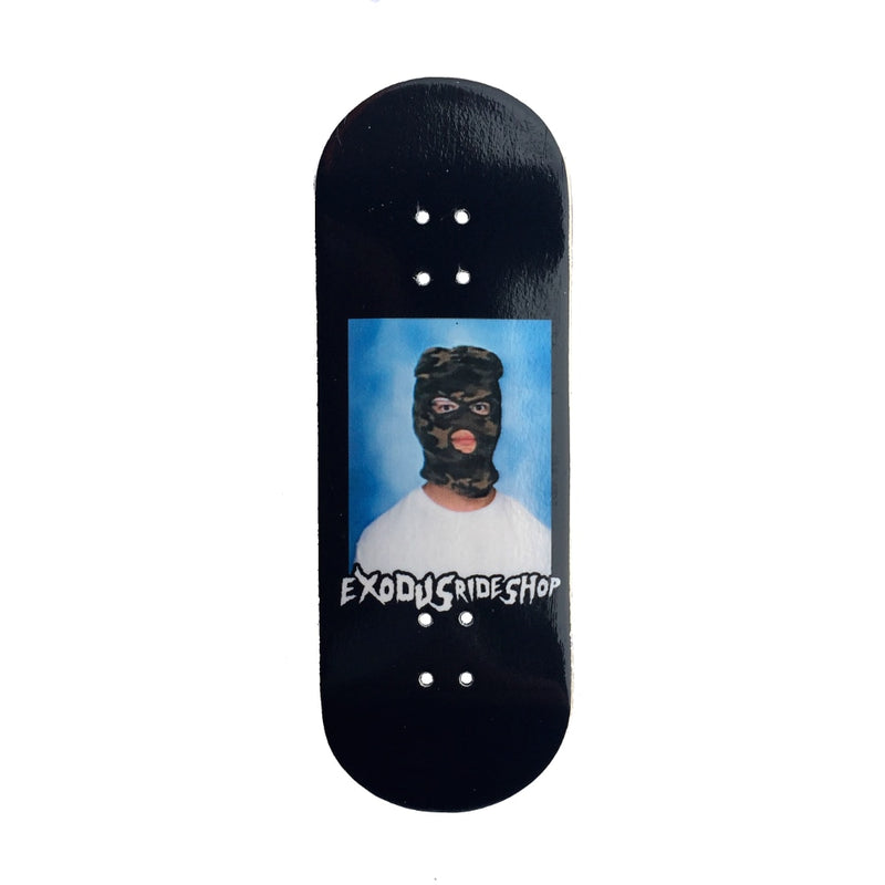 Exodus Skimask X-Wide 33mm Fingerboard Deck - Black