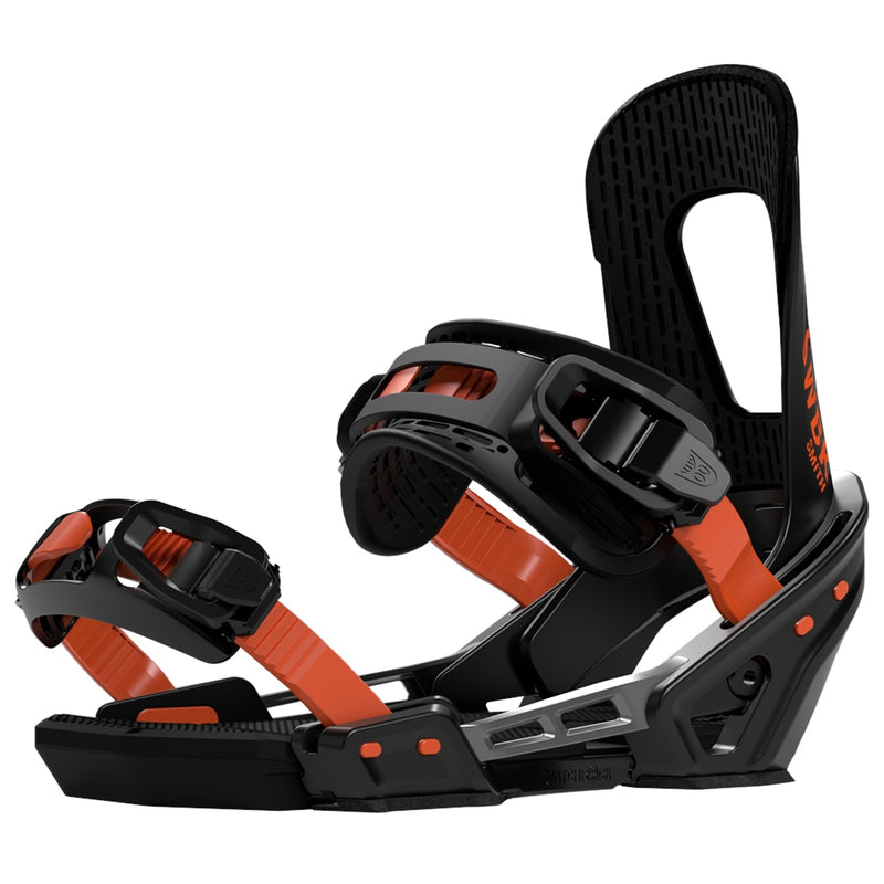 Switchback 2020 Smith Snowboard Bindings - Black