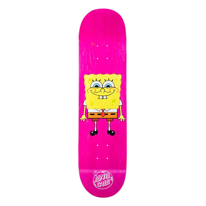 Santa Cruz X SpongeBob Square Pants Skateboard Deck