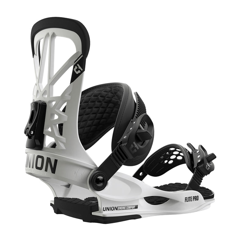 Union 2019 FLite Pro Snowboard Bindings - White