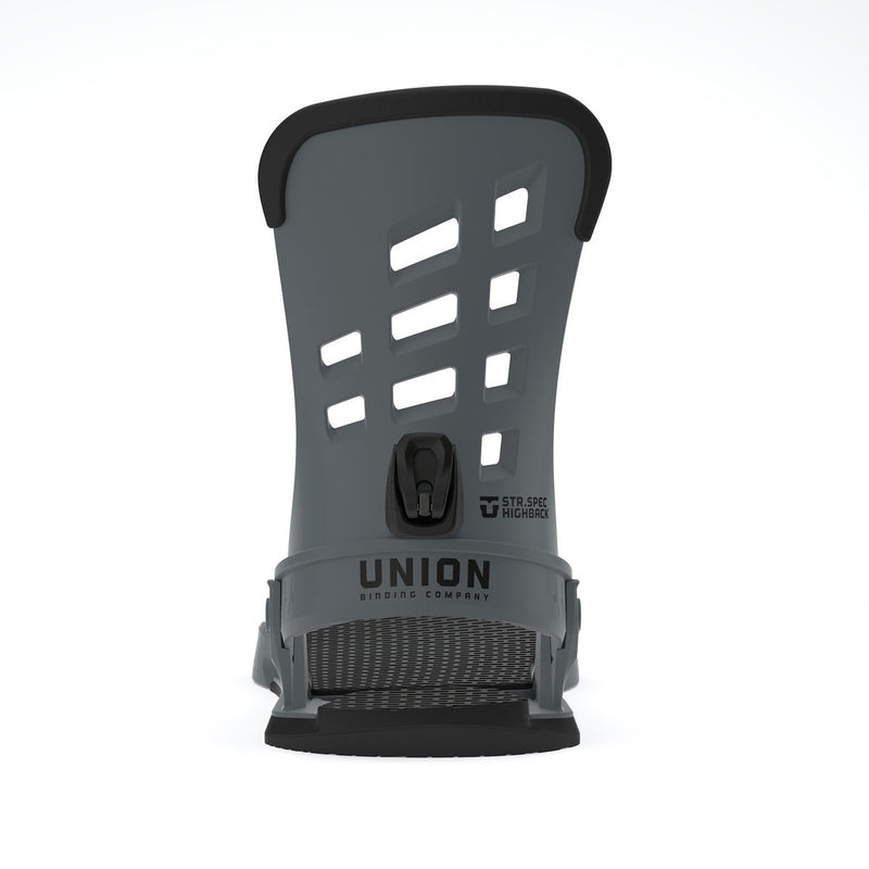Union 2020 STR Snowboard Bindings - Dark Grey
