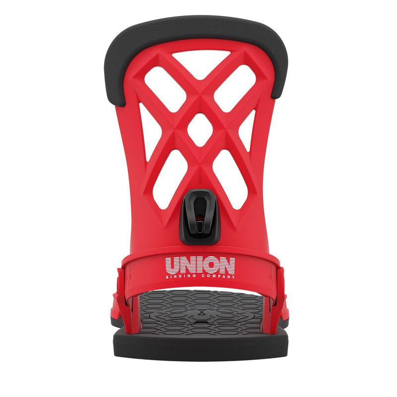 Red 2021 Union Contact Pro Snowboard Bindings Highback