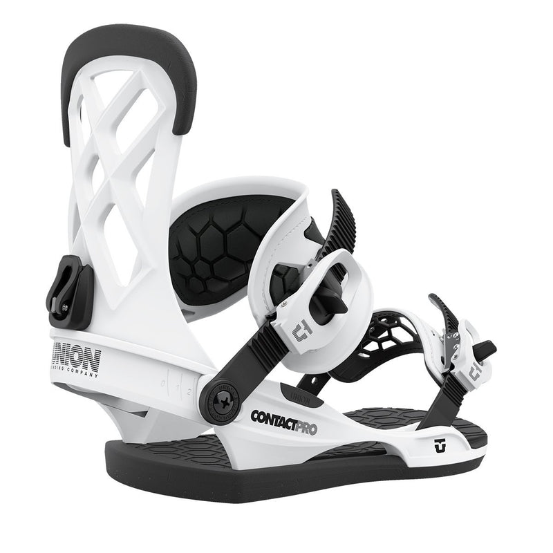 Union 2021 Contact Pro Snowboard Bindings - White
