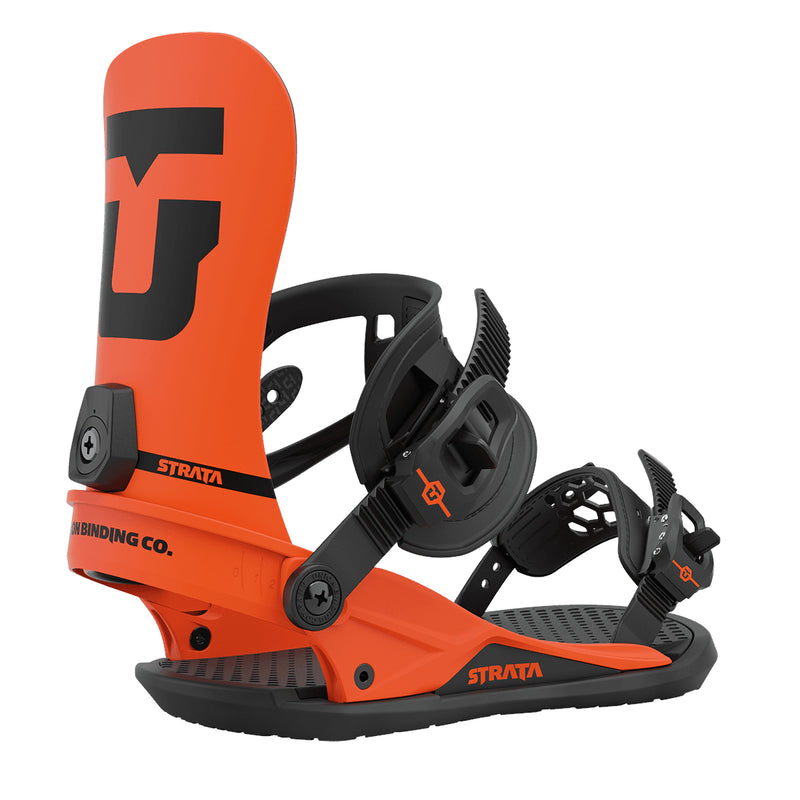 Union Orange 2021 Union Strata Snowboard Bindings