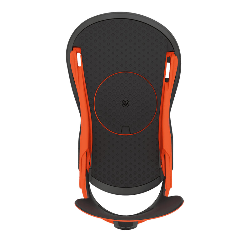 Union Orange 2021 Union Strata Snowboard Bindings Top