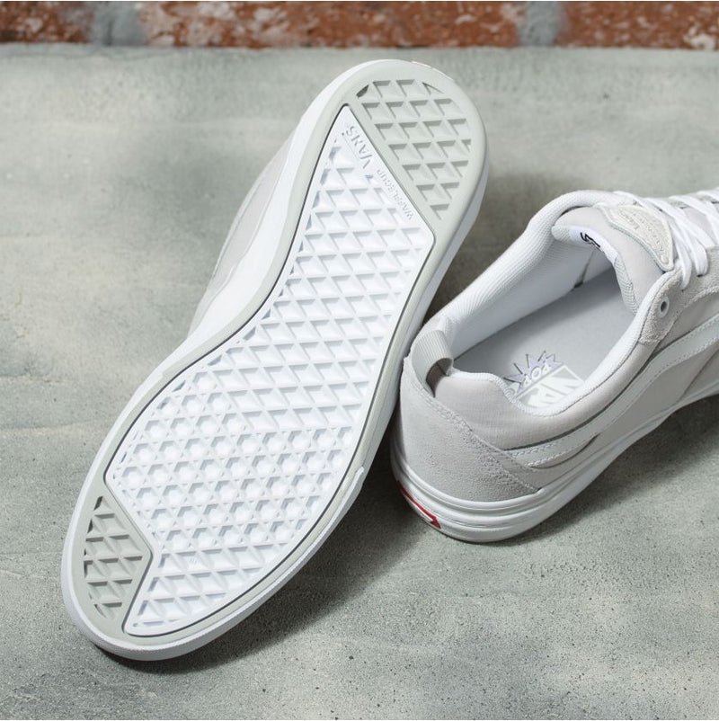 Grey Chambray Kyle Walker Pro Vans Skateboarding shoe Bottom