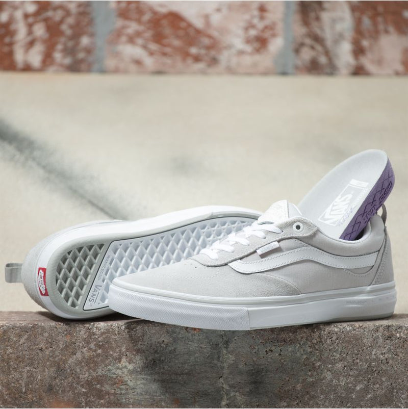 Grey Chambray Kyle Walker Pro Vans Skateboarding shoe