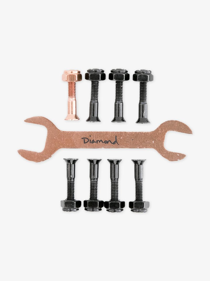 "Diego Najera Rose Gold 7/8"" Diamond Skateboard Hardware"