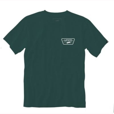Vans Youth Boys Full Patch Back Tee - Trekking Green