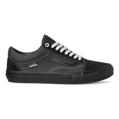 Black Skate Old Skool Vans Skateboard Shoe