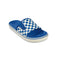 Blue Checker Vans Ultracush Slide