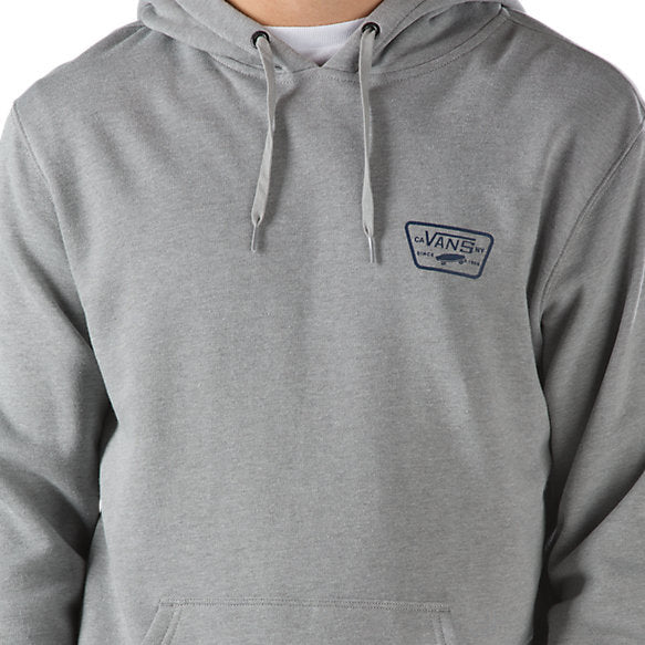 Vans Full Patched Hoodie - Cement Heather