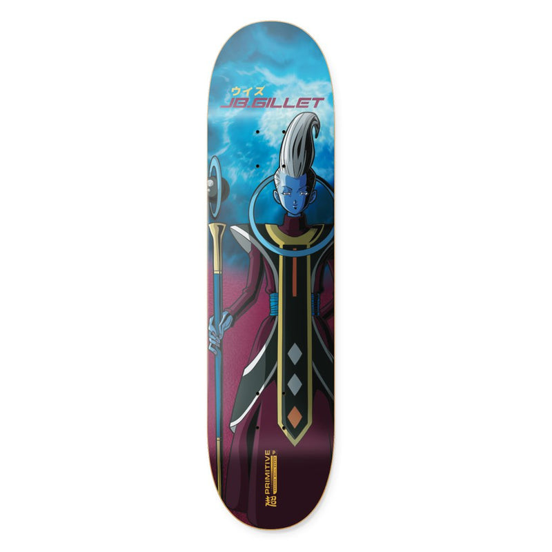 JB Gillet Whis Dragon Ball Super Primitive Skateboard Deck