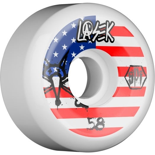 Bones SPF Lasek USA P5 Skateboard Wheels