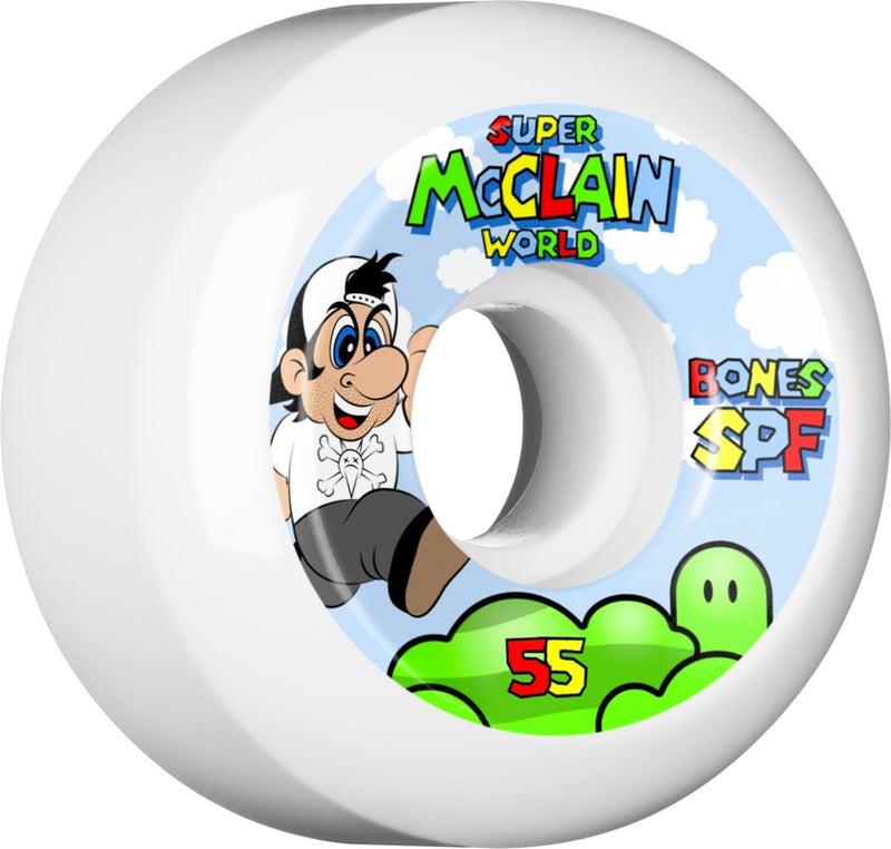 Bones SPF 104a Mcclain Super P5 Skateboard Wheels