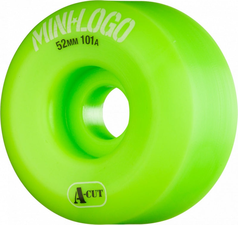 Mini Logo A-Cut 101a Skateboard Wheels - Green