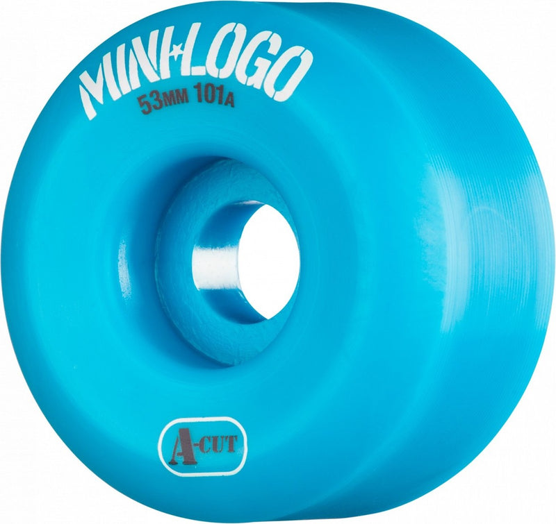 Mini Logo A-Cut 101a Skateboard Wheels - Blue