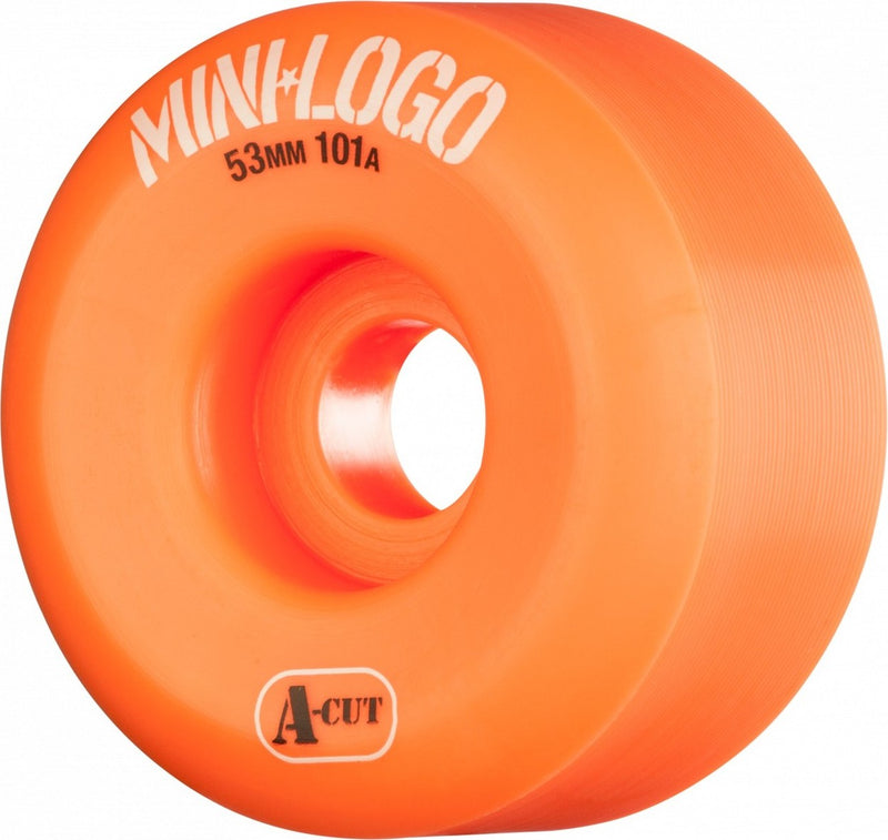 Mini Logo A-Cut 101a Skateboard Wheels - Orange