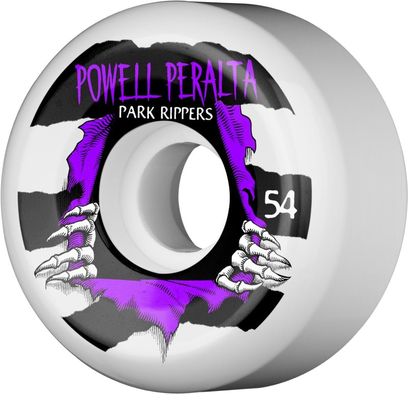 Powell Peralta 104A Park Ripper Skateboard Wheels - Purple