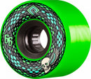 Powell Peralta Snakes  75a Skateboard Wheels - Green