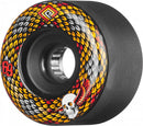 Powell Peralta Snakes  75a Skateboard Wheels - Black