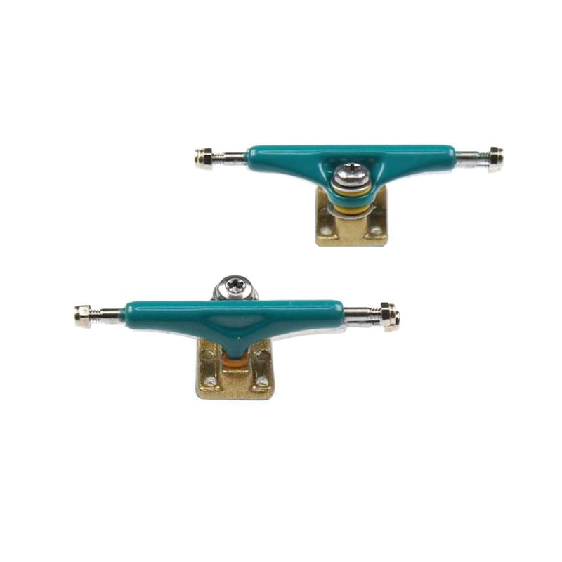 Ytrucks X4 Fingerboard Trucks - Tiffany/Gold