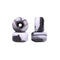 Black/White Abstract Conical Fingerboard Wheels