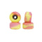 Pink/Yellow Abstract Conical Fingerboard Wheels