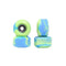 Green/Blue Abstract Conical Fingerboard Wheels