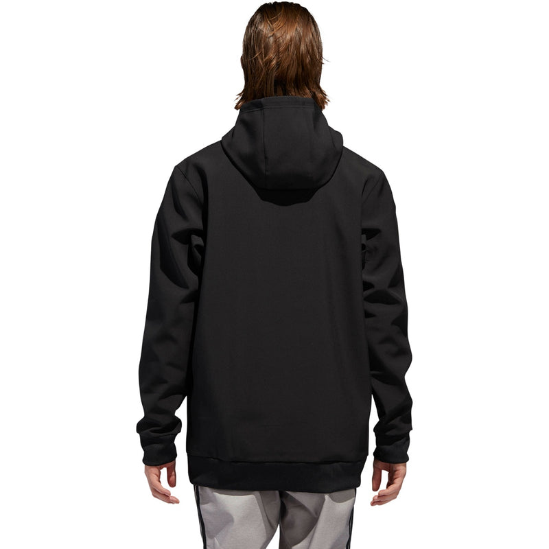 Adidas Team Tech Snowboard Hoodie - Black/White