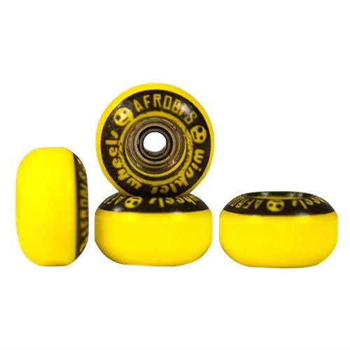 Winkler Afrobi's Fingerboard Wheels - Yellow