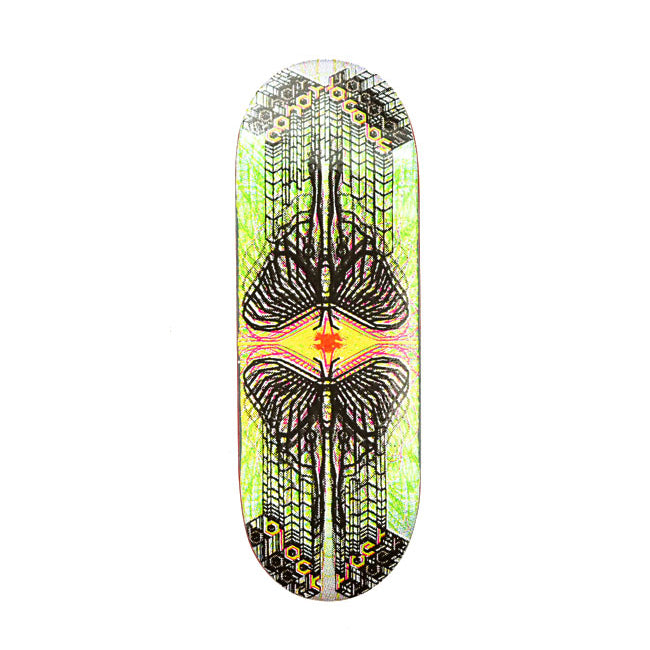 Candy Jacobs Psyfly Wide Low Berlinwood Fingerboard Deck