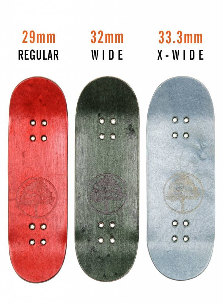 BerlinWood BW Mini Logo FingerBoard - Red