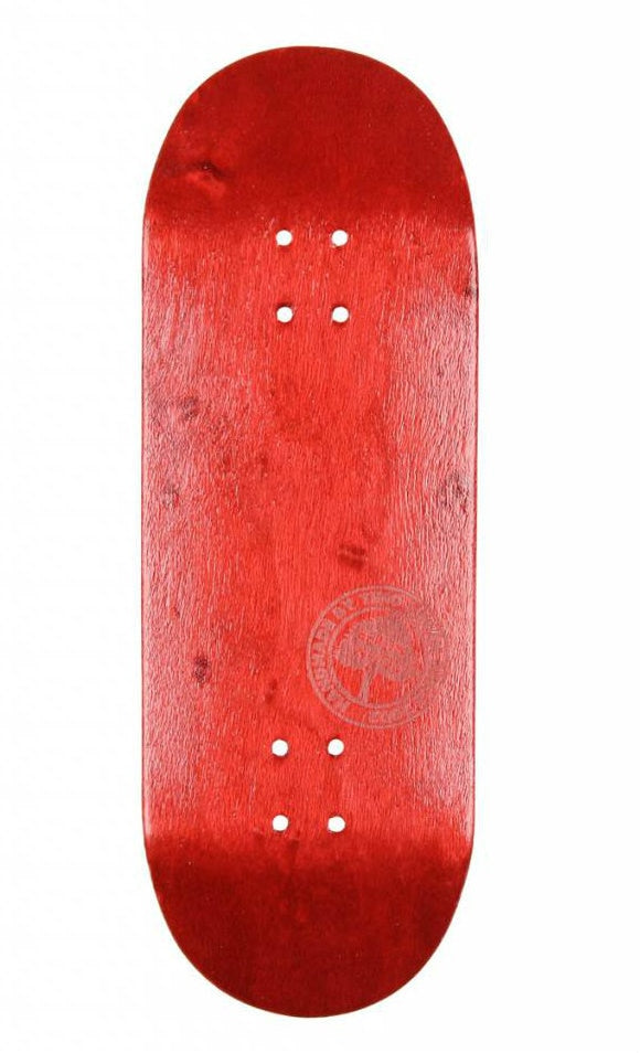 BerlinWood BW Mini Logo FingerBoard Low Concave - Red