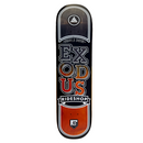 Exodus Stacked Fade Shop Deck - Black / Orange
