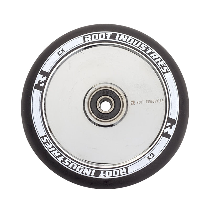 Root Industries Air Scooter Wheels - Black/MIrror (Set of 2)
