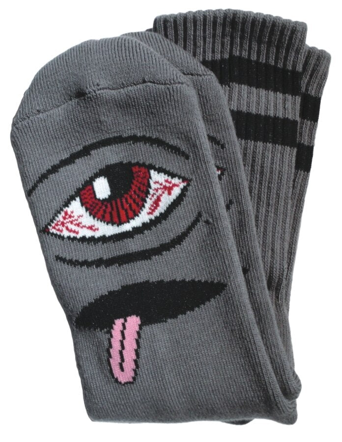 Toy Machine Sect III Socks - Grey