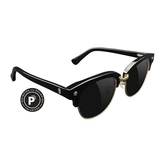 Glassy Carrie Premium Plus Sunglasses - Black/Gold